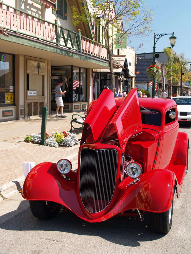 12th Anniversary Michigan Old Us 27 Motor Tour Downtown Gaylord - Old-us-27-map